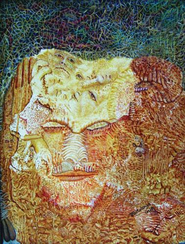 "- Image: ""Complexity"" - Franklin Sotolongo - Oil/canvas"