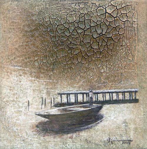 "- Image: ""Determination"" - Agustín Bejarano - Mixed/canvas"