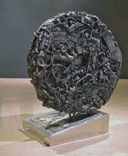 All Is Running –Sculpture (224 x 200 cm)